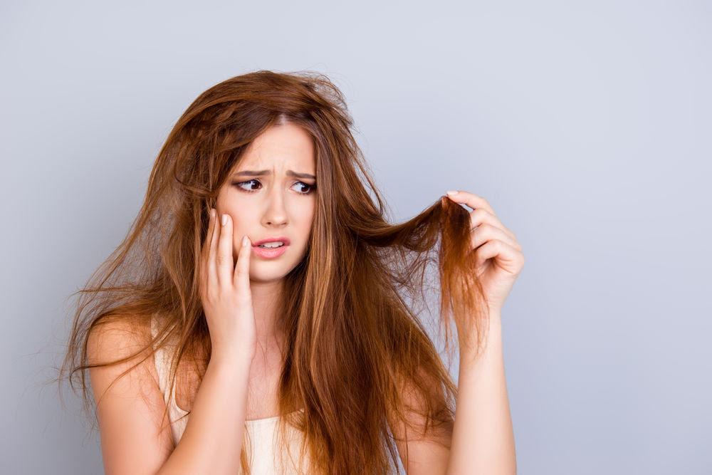 Cómo reparar el cabello con agua